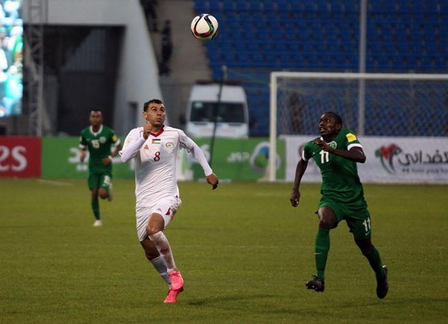 مباراة المنتخب السعودي والفلسطيني - 07- مباراة المنتخب السعودي والفلسطيني - الاناضول