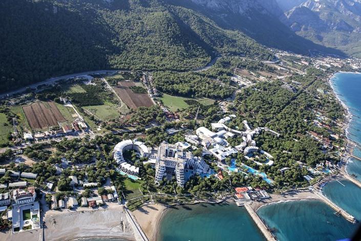 """تحضيرات لقمة """"العشرين"""" في أنطاليا التركية - 03- تحضيرات لقمة العشرين في أنطاليا التركية - الاناضول"""