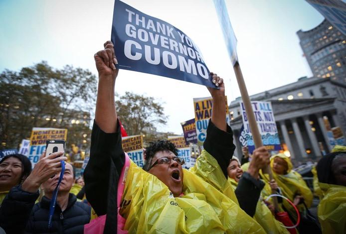 مظاهرات في أمريكا تطالب برفع أجور العمال - 08- مظاهرات في أمريكا تطالب برفع أجور العمال - الاناضول