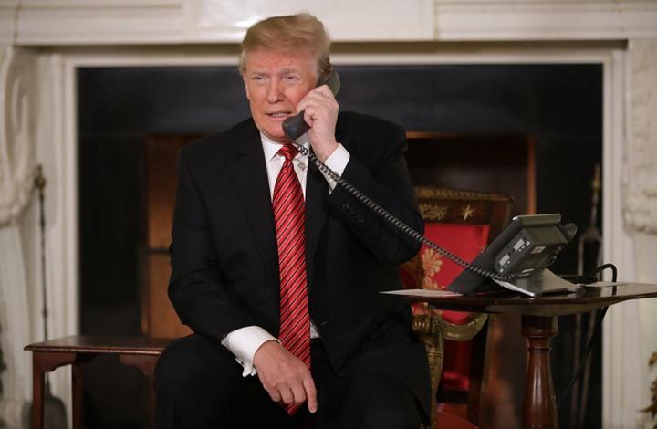 ترامب مكالمة اتصال- جيتي