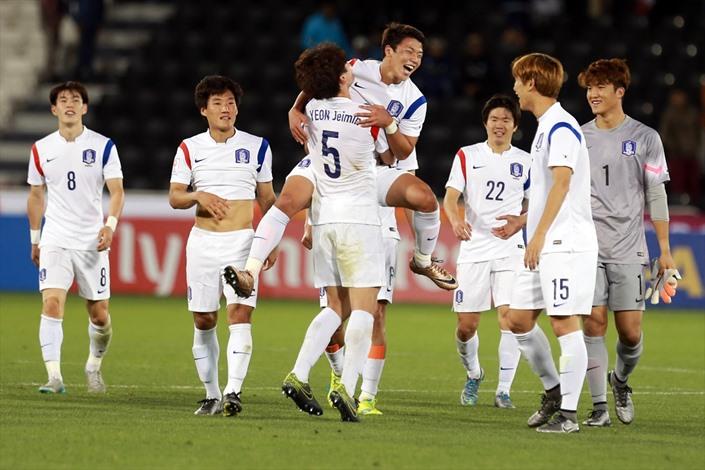 كوريا الجنوبية تلحق باليابان في نهائي آسيا - 08- كوريا الجنوبية تلحق باليابان في نهائي آسيا - الاناض