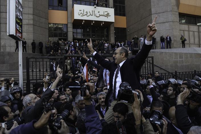 صدور حكم نهائي بمصرية الجزيرتين - 02- صدور حكم نهائي بمصرية الجزيرتين - الاناضول