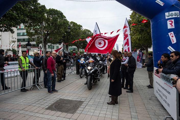 رالي تونس الدولي للدراجات النارية - 02- رالي تونس الدولي للدراجات النارية - الاناضول