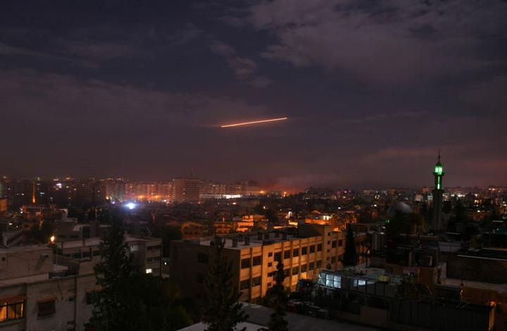 غارات دمشق- جيتي