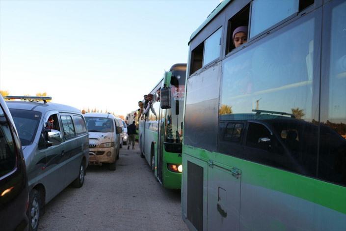 مغادرو حلب.. فرحة النجاة.. ومرارة المغادرة - 07- مغادرو حلب.. فرحة النجاة.. ومرارة المغادرة - الاناض