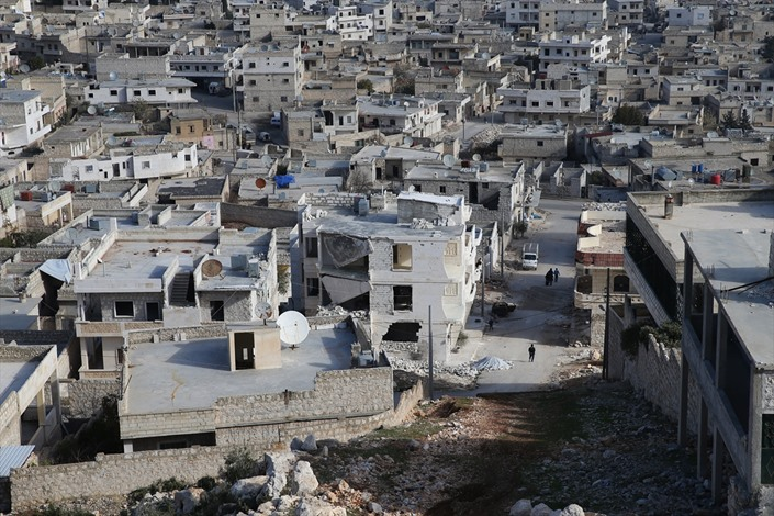 دارة عزة في حلب، مدينة أشباح بفعل القصف - 03- دارة عزة في حلب، مدينة أشباح بفعل القصف - الاناضول