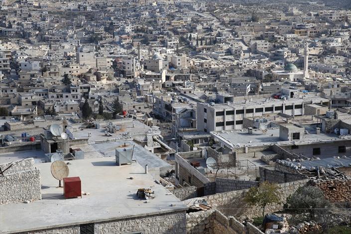 دارة عزة في حلب، مدينة أشباح بفعل القصف - 07- دارة عزة في حلب، مدينة أشباح بفعل القصف - الاناضول