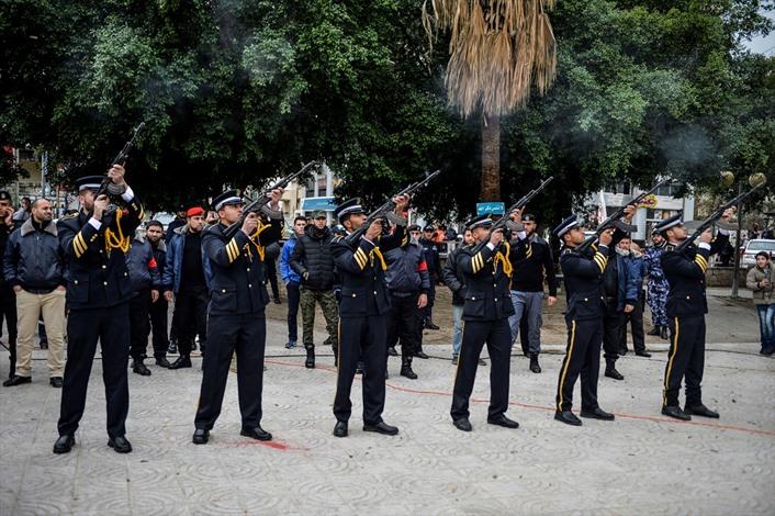 عرض عسكريا بذكرى الحرب الاسرائيلية الاولى على غزة - 03- عرض عسكريا بذكرى الحرب الاسرائيلية الاولى عل