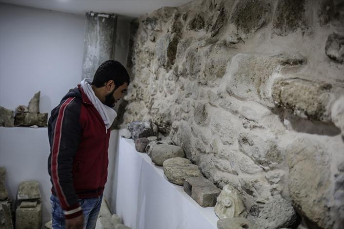 افتتاح مقام الخضر الأثري بغزة - 02- افتتاح مقام الخضر الأثري بغزة - الاناضول