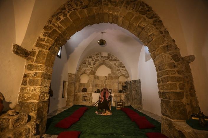 افتتاح مقام الخضر الأثري بغزة - 05- افتتاح مقام الخضر الأثري بغزة - الاناضول