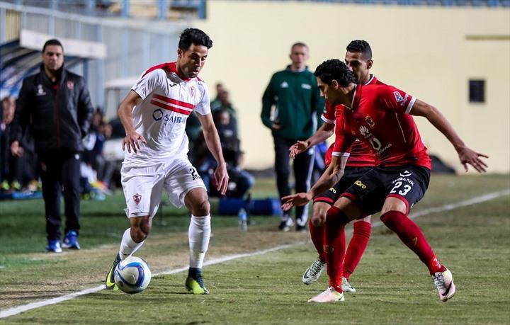 الأهلي يحسم كلاسيكو الكرة المصرية - 03- الأهلي يحسم كلاسيكو الكرة المصرية - الاناضول