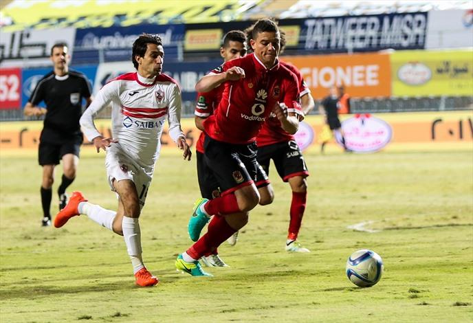 الأهلي يحسم كلاسيكو الكرة المصرية - 04- الأهلي يحسم كلاسيكو الكرة المصرية - الاناضول
