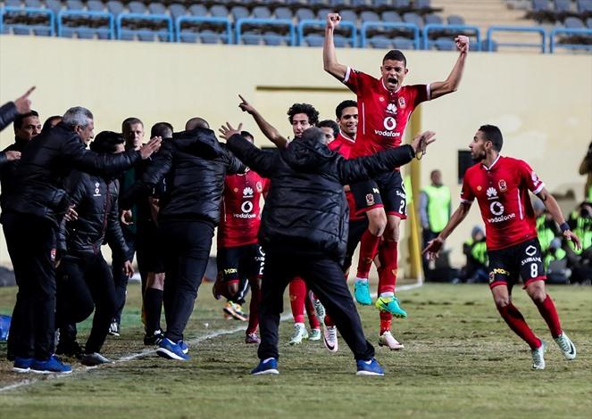 الأهلي يحسم كلاسيكو الكرة المصرية - 05- الأهلي يحسم كلاسيكو الكرة المصرية - الاناضول