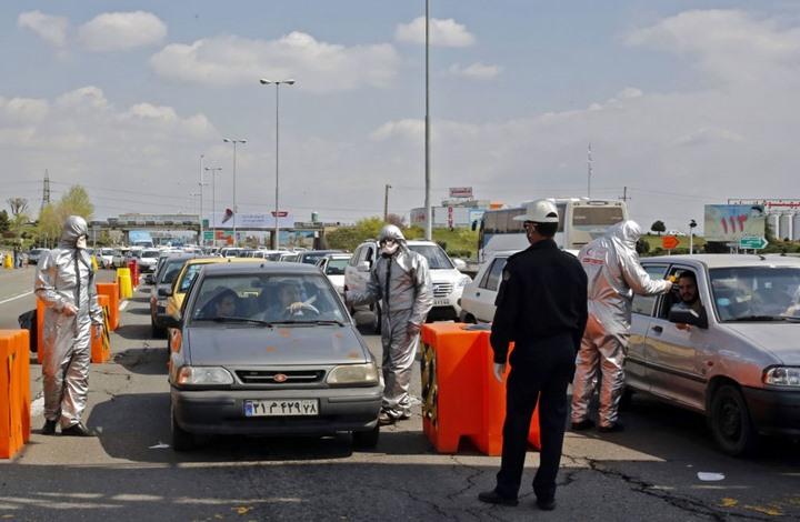 إيران الشرطة كورونا- جيتي