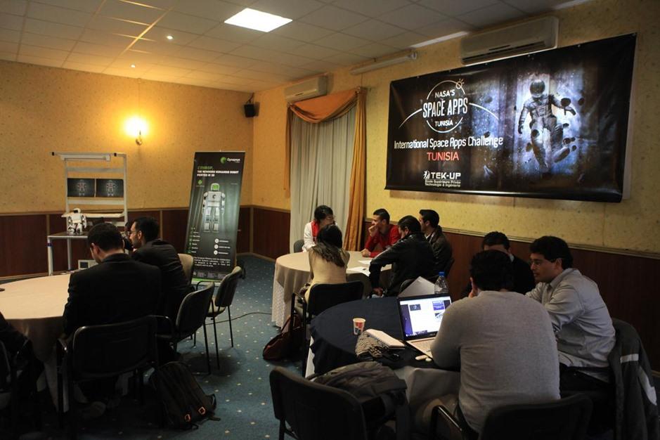 مسابقة تطبيقات الفضاء لوكالة ناسا بتونس - 04- مسابقة تطبيقات الفضاء لوكالة ناسا بتونس - الاناضول