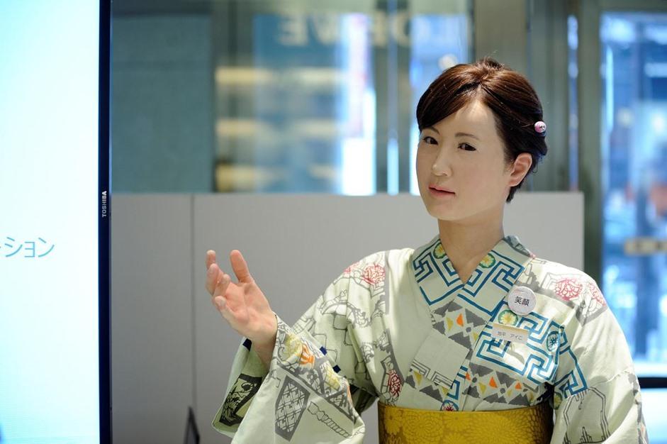 توشيبا تطور إمرأة آلية بقدرات بشرية - 05- توشيبا تطور إمرأة آلية - الاناضول
