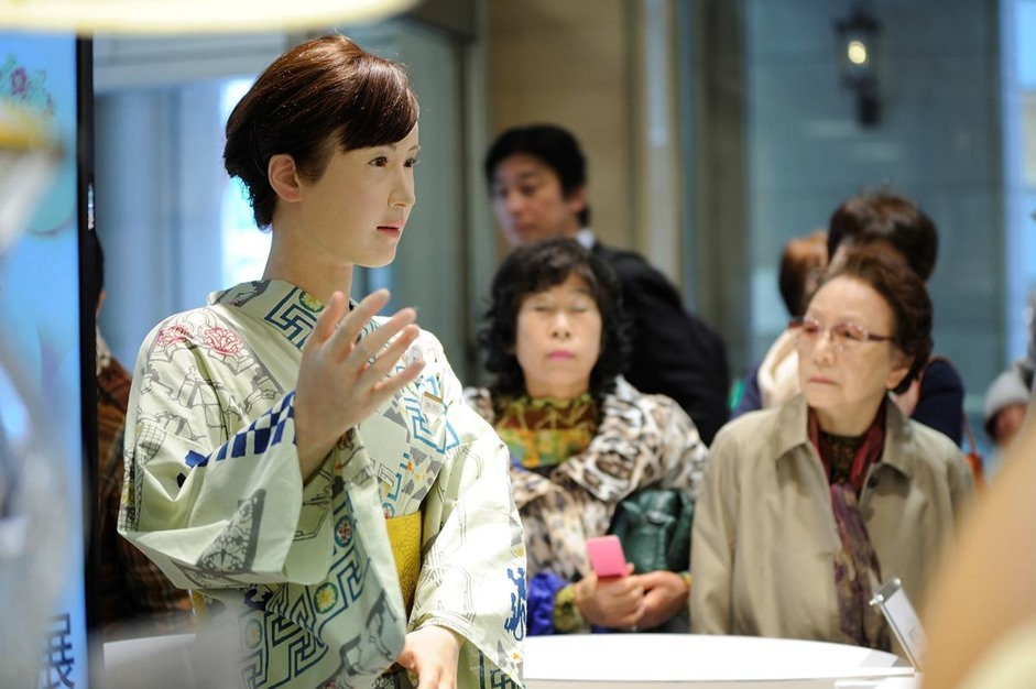 توشيبا تطور إمرأة آلية بقدرات بشرية - 08- توشيبا تطور إمرأة آلية - الاناضول