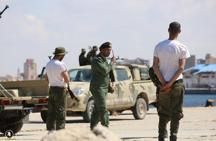 معركة وادي الدوم معارك ليبيا الجيش الليبي- الإعلام الحربي