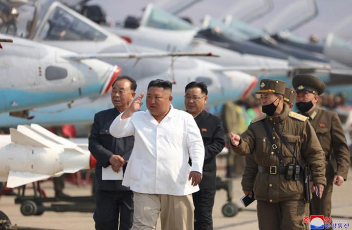 كيم جونغ أون- وكالة أنباء كوريا الشمالية