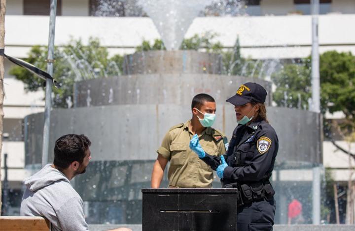 الشرطة والجيش إسرائيل كورونا- جيتي