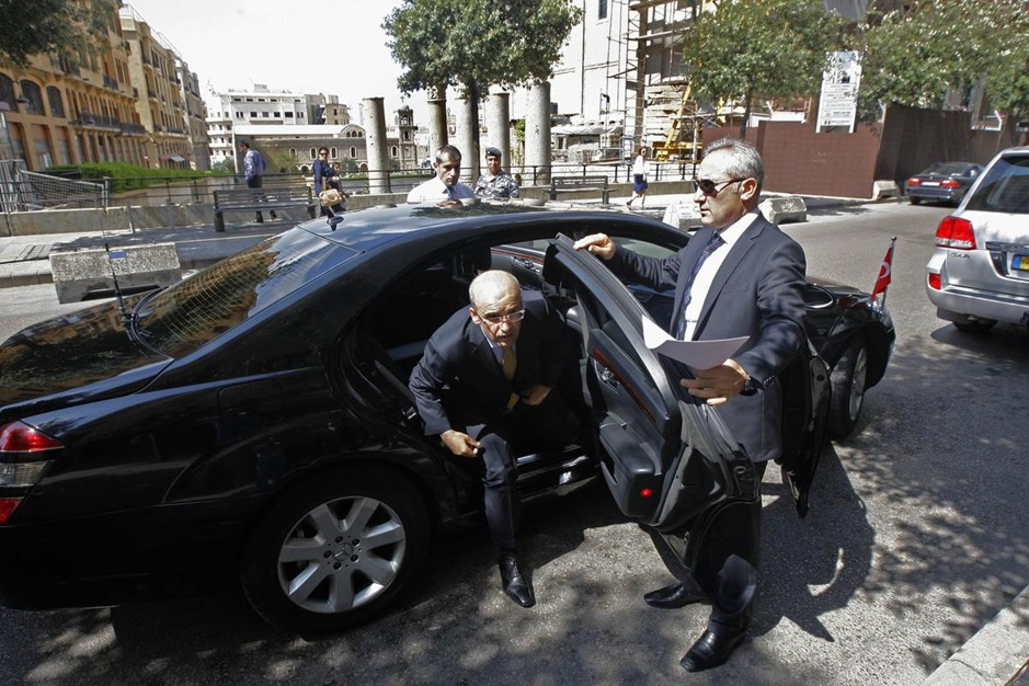 وزير المالية التركي يزور لبنان - وزير المالية التركي يزور لبنان (2)