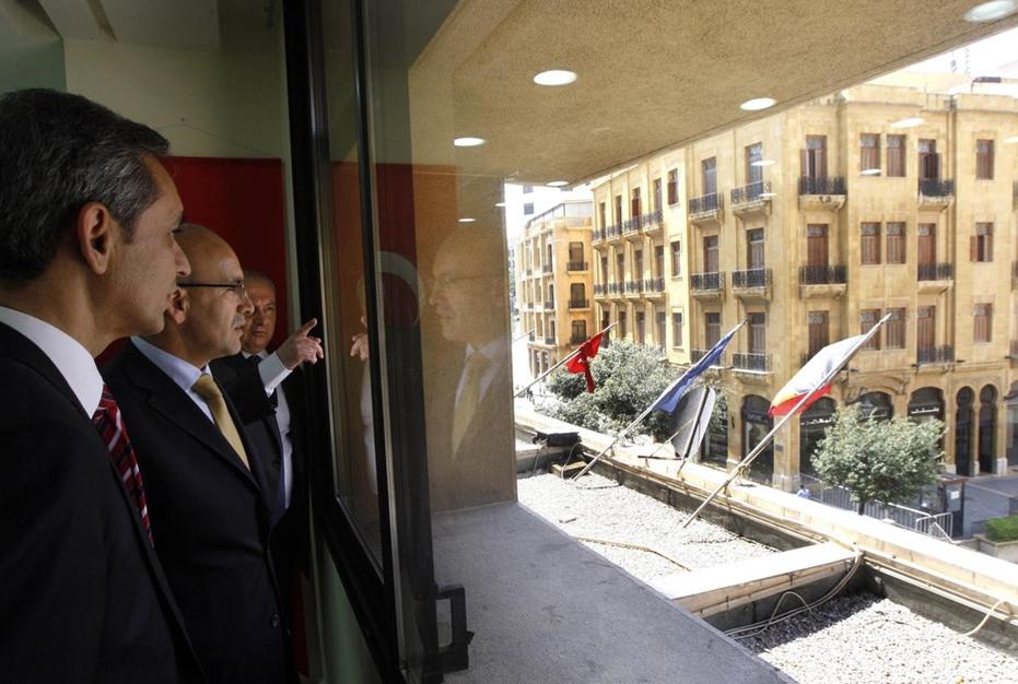 وزير المالية التركي يزور لبنان - وزير المالية التركي يزور لبنان (3)