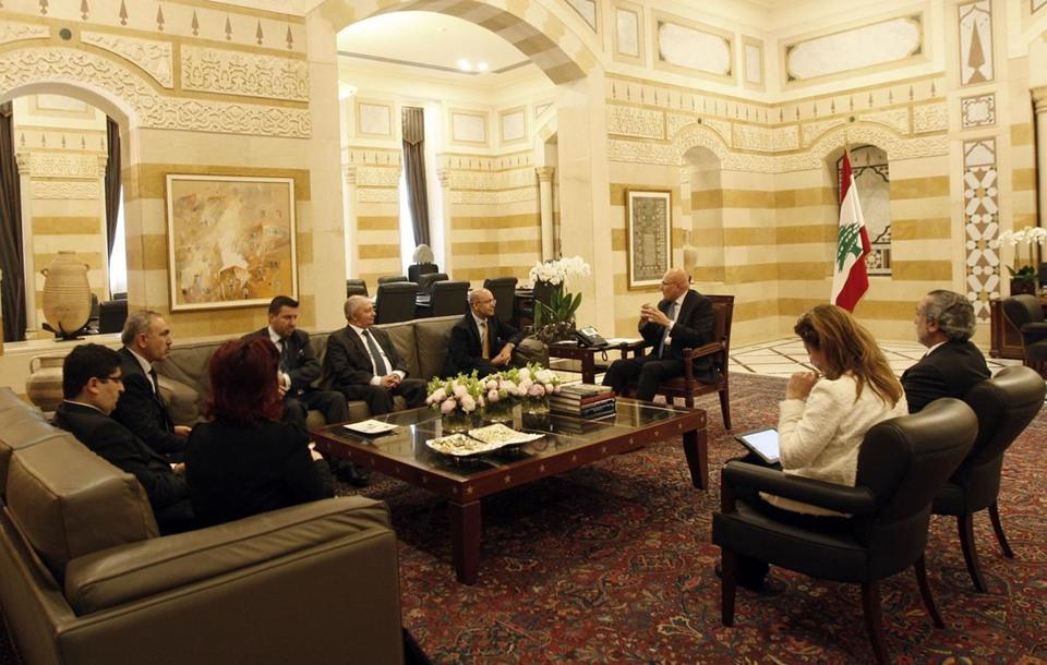 وزير المالية التركي يزور لبنان - وزير المالية التركي يزور لبنان (5)
