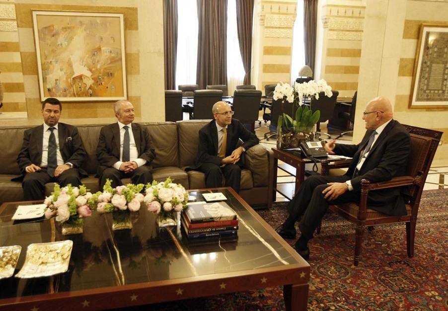 وزير المالية التركي يزور لبنان - وزير المالية التركي يزور لبنان (7)
