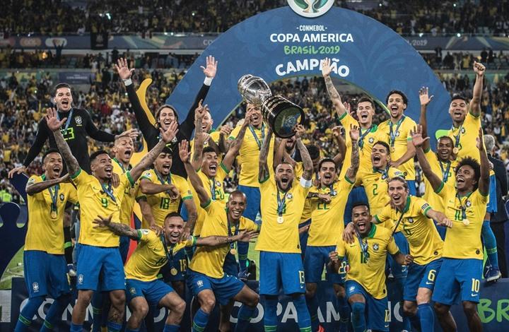 تتويج البرازيل- موقع المنتخب البرازيلي