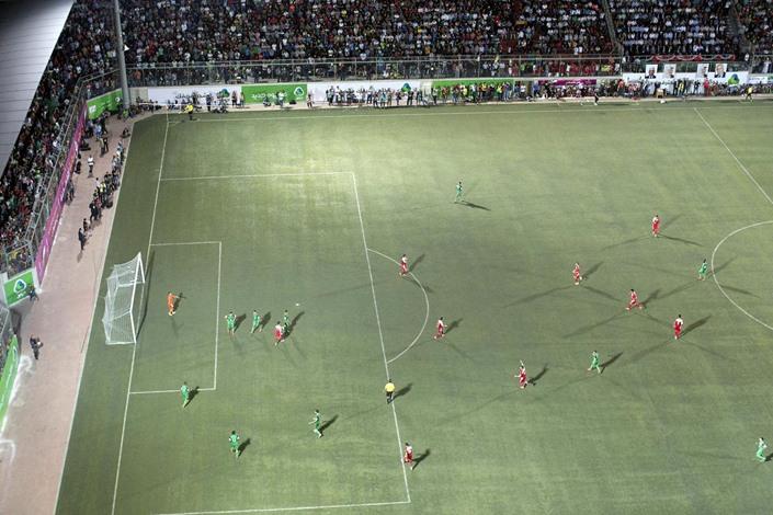 """""""أهلي الخليل"""" يفوز بكأس فلسطين لكرة القدم - 01- أهلي الخليل يفوز بكأس فلسطين لكرة القدم - الاناضول"""