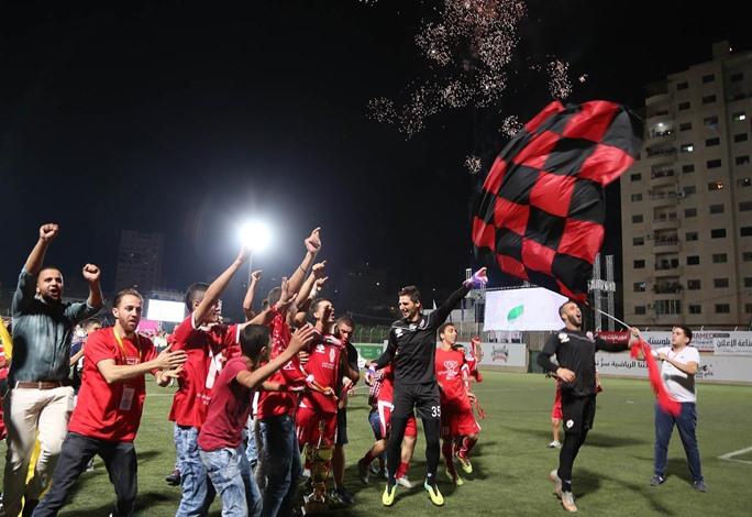 """""""أهلي الخليل"""" يفوز بكأس فلسطين لكرة القدم - 07- أهلي الخليل يفوز بكأس فلسطين لكرة القدم - الاناضول"""