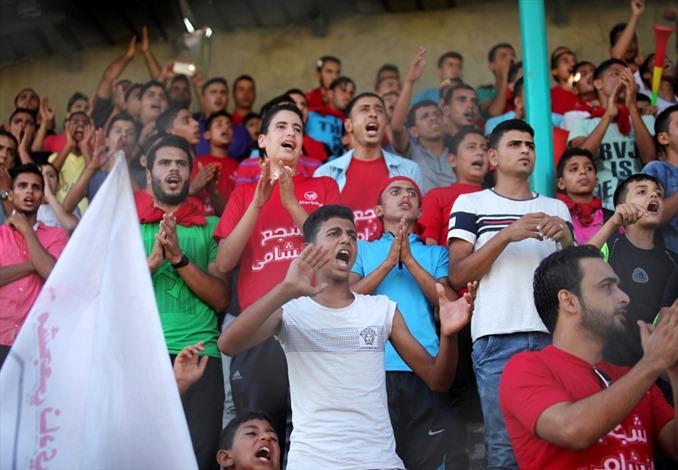 خدمات رفح يتوّج بكأس السوبر لأندية غزة - 05- خدمات رفح يتوّج بكأس السوبر لأندية غزة - الاناضول