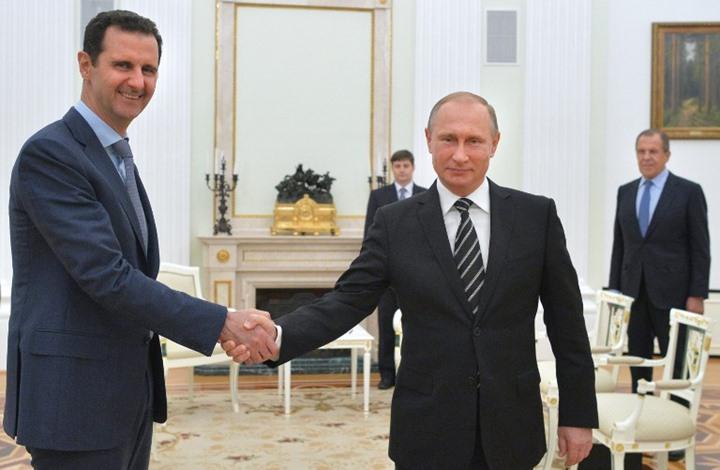 بوتين في إنذار للأسد: تنازل عن صلاحياتك لحكومة انتقالية