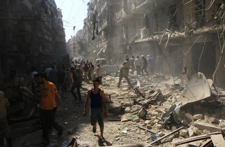 غارات وقصف للنظام السوري على محافظتي حلب وإدلب