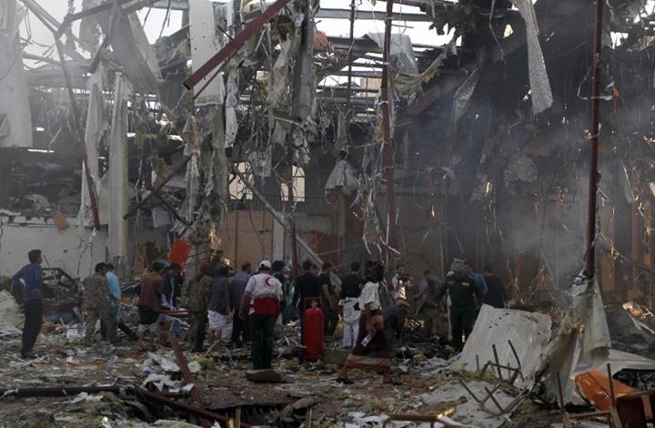 الوزير الرويشان يكشف تفاصيل جديدة عن مجزرة عزاء صنعاء