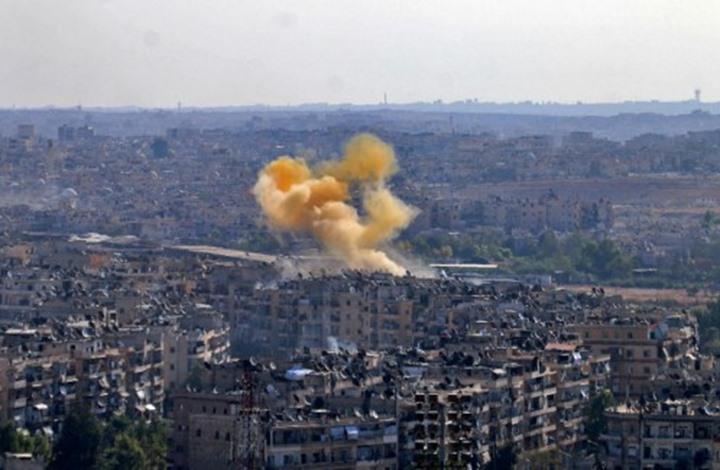 """مقتل 10 سوريين في قصف للنظام استهدف مناطق """"التهدئة"""""""