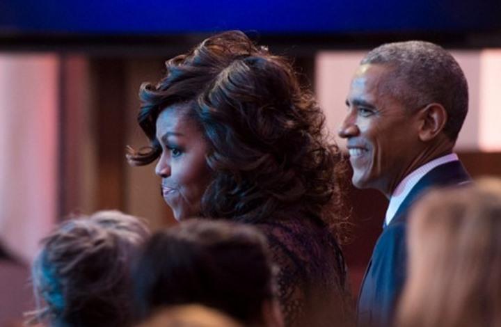 هكذا احتفل أوباما وزوجته بذكرى زواجهما (شاهد)