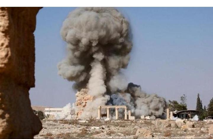 تلغراف: نهب آثار تدمر مستمر تحت سمع ونظر الروس