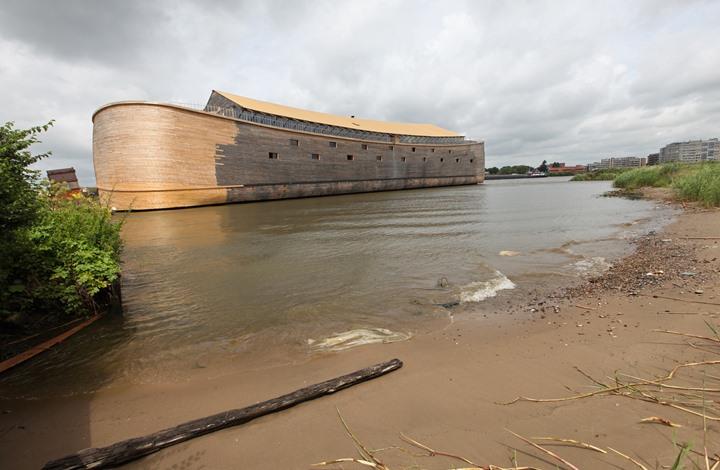 لأول مرة.. صورة ثلاثية الأبعاد لسفينة نوح (شاهد)
