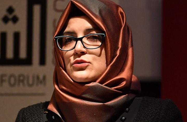 خطيبة خاشقجي تطالب قادة العالم بإجراءات لتحقيق العدالة لجمال
