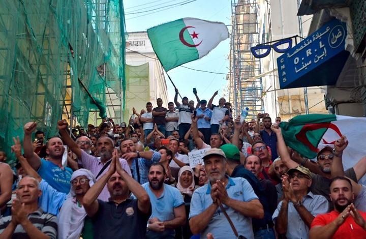 احتجاجات في الجزائر أمام البرلمان ضد مشروع قانون المحروقات