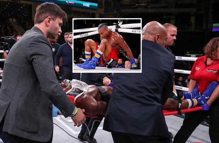 ضربة قاضية تدخل ملاكما في غيبوبة (شاهد)