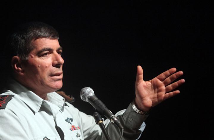 تقدير إسرائيلي: أشكنازي بدأ التخطيط لتولي رئاسة الحكومة المقبلة