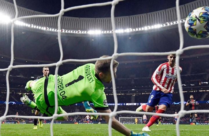 أتلتيكو مدريد يُحقق فوزا صعبا على باير ليفركوزن (شاهد)