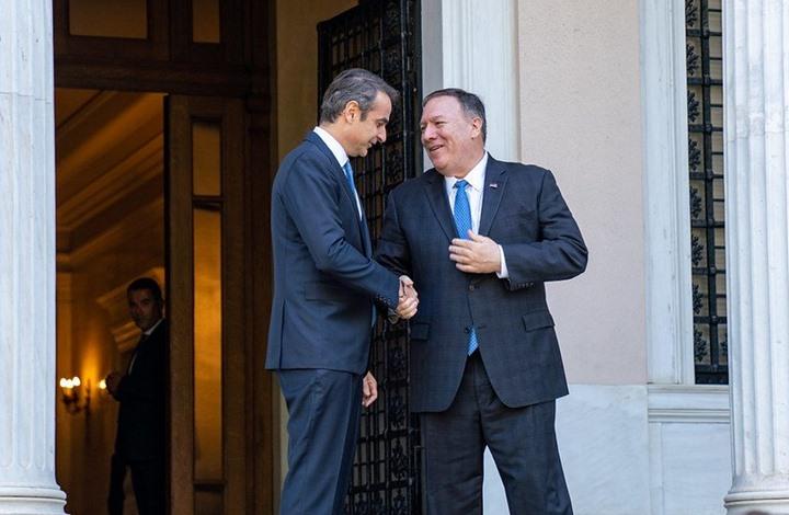 """رئيس وزراء اليونان يطلب دعما أمريكيا ضد """"التنقيب التركي"""""""