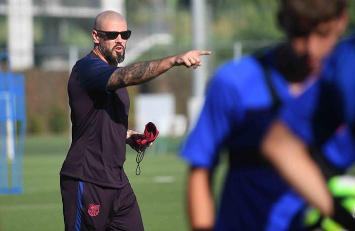 برشلونة يقيل فيكتور فالديز من مهامه في النادي