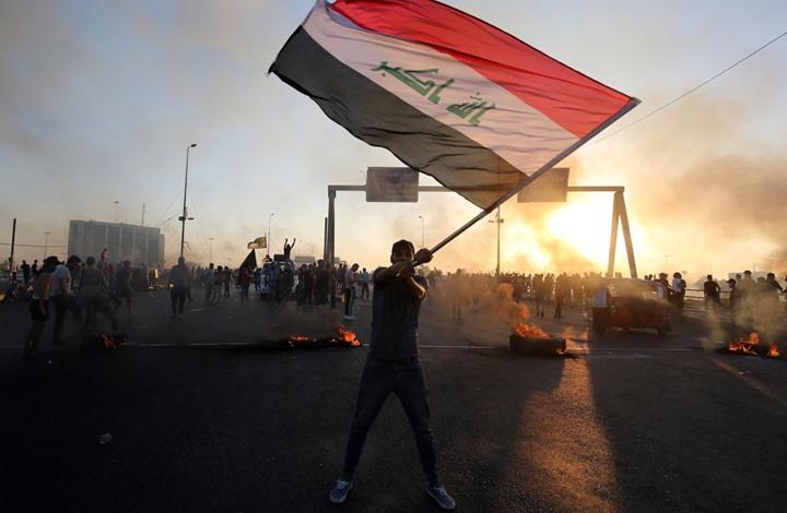 قتلى وجرحى بتظاهرات بغداد.. الأمن ينفي والكاظمي يتوعد