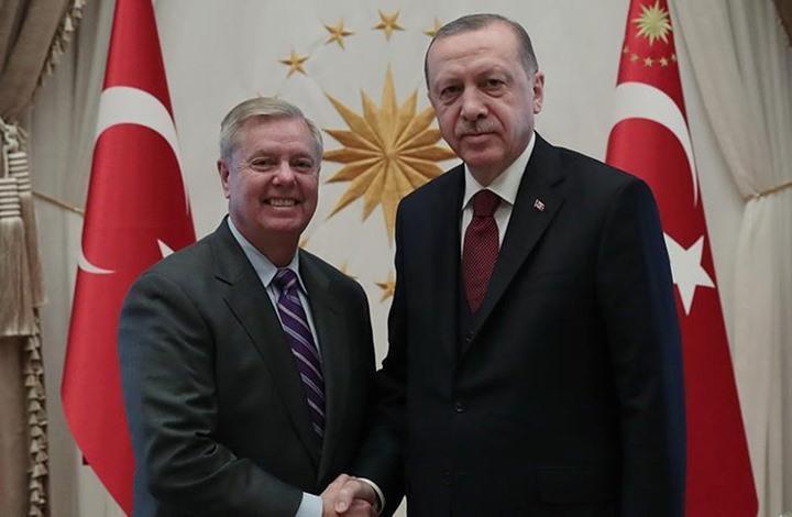بوليتيكو: كيف خدع ليندزي غراهام ومدح أردوغان؟