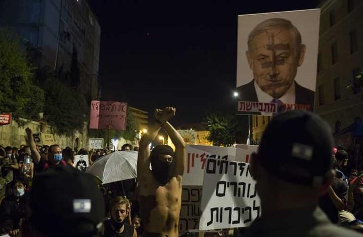 """""""معاريف"""": غالبية الإسرائيليين يطالبون نتنياهو بالرحيل"""