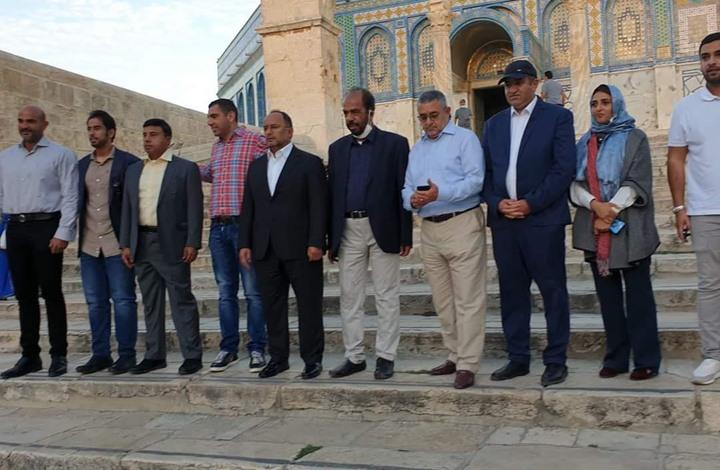 صحيفة تؤكد أن الوفد التطبيعي الذي زار القدس إماراتي